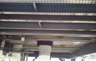 Netting Over Ceiling