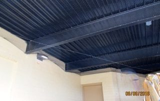 Netting On Ceiling